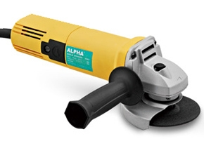Alpha A8801 850 W Angle Grinder (Wheel Dia 100 Mm, 11000 Rpm)