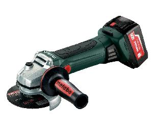 Metabo W 18 Ltx 125 Quick 125 Mm Wheel Dia 5000 Rpm Cordless Angle Grinder