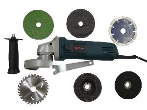 Ib Basics Combo Of 6-100 Angle Grinder  With Cutting Blade