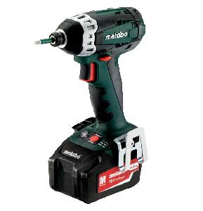 Metabo Ssd 18 Ltx 200 18v Cordless Impact Screw Driver