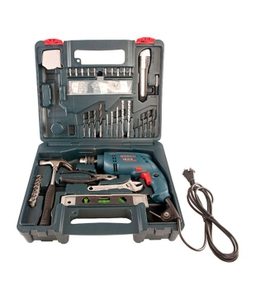 Bosch Gsb 500 Re 500 W 2600 Rpm Impact Drill Kit