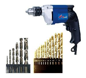Yking 2313c Electric Drill 13 Mm With All Bit Set
