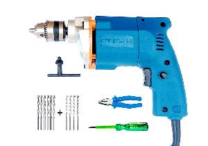 Dee Power 10 Mm Drill Machine With Drill Bit Plier And Tester