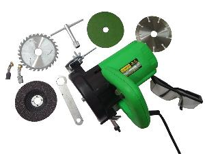 Ib Basics Combo Of Ec5e Marble Cutter With Blade 125 Mm