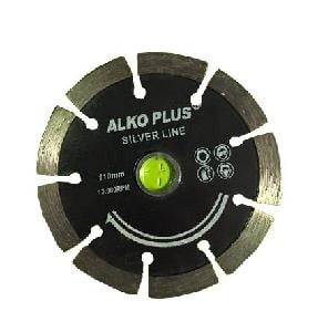 Alko Plus Silver 4 Inch Marble Cutting Blade 9 Seg Pack Of 20 Pcs