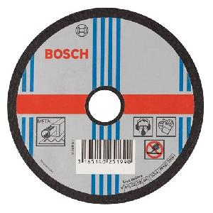Bosch 4 Inch Straight Cutting Wheel For Metal 100 X 2.5 X 16 Mm
