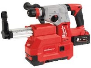 Milwaukee M18CHXDE-502C 18V SDS Plus Hammer Drill