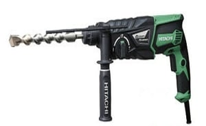 Hitachi - Koki Dh28pby Rotary Hammer (Power Input 850w, Weight 2.9kg)