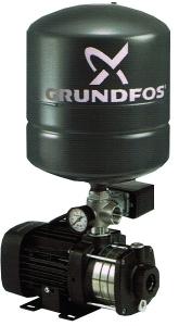 Grundfos Booster Pressure Pump Tank Capacity 24 Ltr CM 5-4 (0 9 HP)