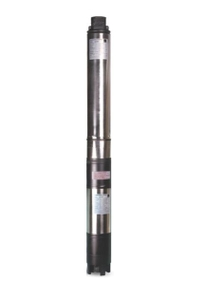 Kirloskar 1 Hp Water Filled Single Phase 4 Inch Borewell Submersible Pump Ku4-0708s With Control Panel