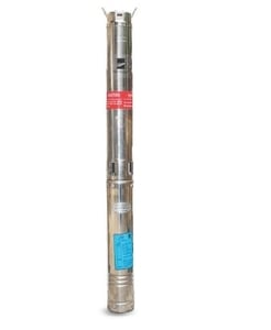 Kirloskar 1 Hp Borewell Submersible Pump With Control Panel Ku40807s Cp A