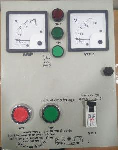 Mxvolt Heavy Duty Single Phase Control Panel 1 Hp