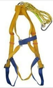 Turbo Full Body Double Rope Safety Belt