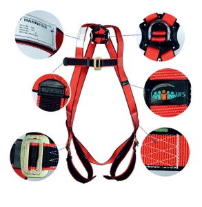 Ufs Full Body Harness Polypropylene Usp 15 Single Usp 210 (2mtr.)Pp