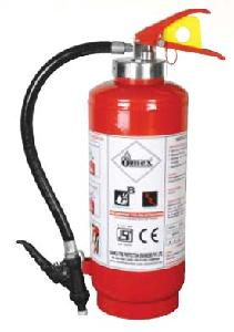 Omex 4 Kg Dry Chemical Powder Gas Cartridge Type Fire Extinguisher