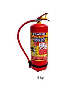 Safe Pro 9kg Bc(Stored Pressure) Dry Chemical Powder Fire Extinguisher