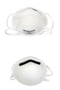Honeywell White Dust And Pollution Mask H820