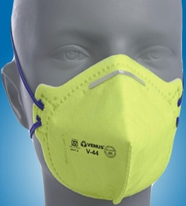 Yellow Mask Pollution Venus Respirator Dust And V-44