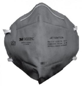 3m Grey Flat Fold Disposable Dust Mask 9000ing