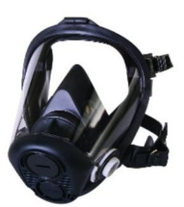 Honeywell Full Face Respirator W/Acid Gas Filter - Ru65002m | N75002l
