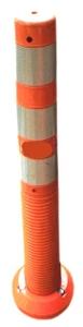H2 Safety Plastic Reboundable Delineator Pole Height 750 Mm