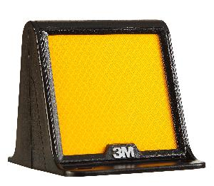 3m Yellow Two Side Clr Logo Median Marker Mm Fl Ylw