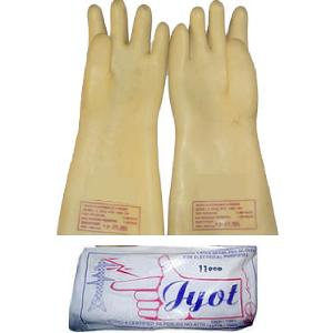 Jyot Ssww197 33 Kva Yellow Electrical Hand Gloves