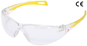 Karam Es013(Clear) Scratch-Resistant Safety Goggles Pack Of 2