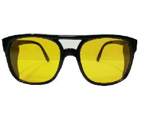 Nu Look Safety Goggle Cum Spectacle Full Size Cover Amber Lens 1 Qty