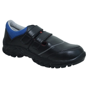 Wonker Sr-00010 Black Steel Toe Safety Shoes Size: 7