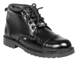 Jk Port Jkpa012blk Pvc Sole 9 No. Black Steel Toe Safety Shoes