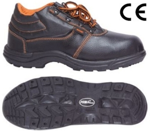 Prima Psf-03 (Boost) Pvc Sole Steel Toe Safety Shoes Size: 8