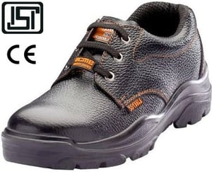 Acme Alloy (Ap-2) 6.0 No. Black Steel Toe Safety Shoes