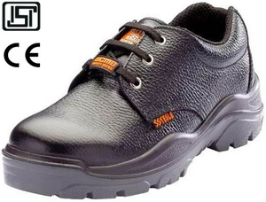 Acme Storm (Ap-22) 7.0 No. Black Steel Toe Safety Shoes