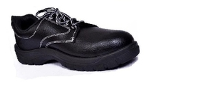 Alfa Gold Ag-02 9 No. Black Steel Toe Safety Shoes
