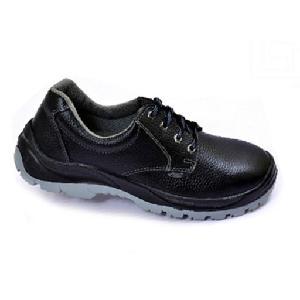 a308b38af6a Allen Cooper AC-1054 6 No. Black Steel Toe Safety Shoes