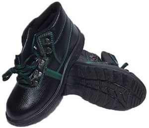 Metro (Aura) Aura 7 No. Black Steel Toe Safety Shoes