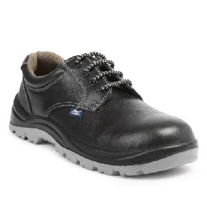 Allen Cooper Ac-1102 7 No. Black Steel Toe Safety Shoes