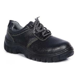 Safari Pro A-777 8 No. Black Steel Toe Safety Shoes
