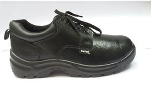 Safari Pro A666 8 No. Black Steel Toe Safety Shoes