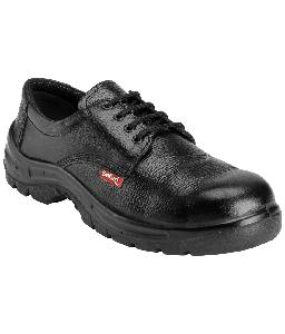 Safari Pro A-888 9 No. Black Steel Toe Safety Shoes