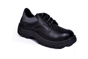 Alfa Gold Ag-05 7 No. Black Steel Toe Safety Shoes