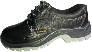 Emperor Czar 8 No. Black Steel Toe Safety Shoes