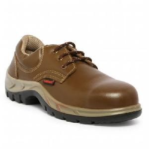 Karam Fs 61 10 No. Brown Steel Toe Safety Shoes