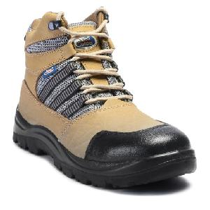 57624d9b145 Allen Cooper AC-9006 9 No. Brown Steel Toe Safety Shoes