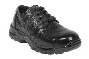Jk Port Jkpb034blk9 Airmix Steel Toe Leather Safety Shoes Size: 9