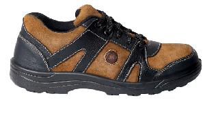 Jk Port Jkpb054brn9 Anti-Skid Steel Toe Leather Safety Shoes Size: 9