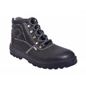 E-Volt 82164-Universal Steel Toe Leather Safety Shoes Size: 9