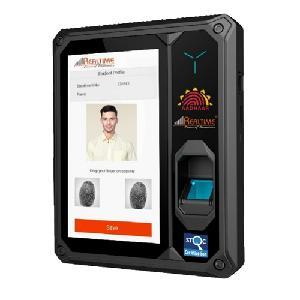 Realtime 7 Inch Aadhaar Enabled Biometric Attendance Machine T502