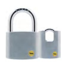 Yale Stain Chrome Plated Padlock Y120D/50/127/1